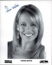 Vanna White USA Glücksrad original Autogramm Autograph großes echt Foto (K-6837+