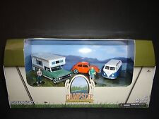 Greenlight Campsite Classics 3 cars set 1 VW Beetle chase 1/64 CHASE