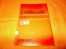 lenin l'imperialismo editori riuniti 1970 brossura cucita