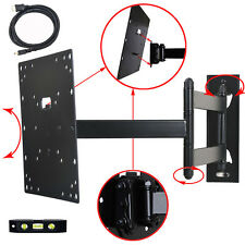"Full Motion TV Monitor Wall Mount 26 28 29 32 39 40 42"" LCD LED Tilt Bracket M84"