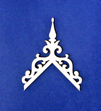 Dollhouse Miniature 1:12  Scale 20/12 Roof Pitch Finial Trim