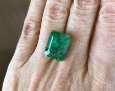 Natural Colombian Emerald •9.85 Ct • Emerald Cut Loose Gemstone • Stone #12