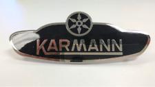 Side Body Badge Emblem Logo, VW Volkswagen Karmann Ghia 1961-1979 Convertible