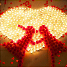 12 PCS LED Flameless Tealights Battery Operated Flickering Tea Light Candles LN