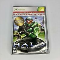 Halo: Combat Evolved (Microsoft Xbox, 2001) Complete - Tested