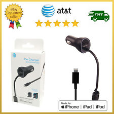 Original AT&T Car Charger Extra USB Apple iPhone /6 /7 /8 /X /11 /Pro /Plus /SE
