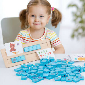 Wooden Blocks Puzzle Toy Game Early Educational Montessori Toys for Kids