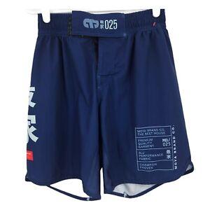 Moya Brand Mens Blue Size 30 Jiu-Jitsu Training Rolling Shorts Adult Workout