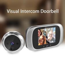"Smart 2.8"" Visual Doorbell IR Night Vision Monitor Security Camera Peephole View"