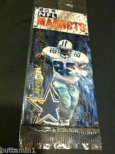 EMMITT SMITH 1996 NFL Magnet HIGH QUALITY Dallas Cowboys NEW SEALED Rare Find!