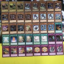 Yugioh Ally of Justice Deck Complete 40 Card Quarantine Salvo Machine Synchro