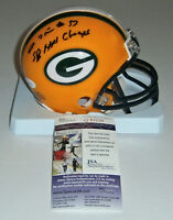 PACKERS Tyrone Williams signed mini helmet w/ SB XXXI JSA COA AUTO Autographed