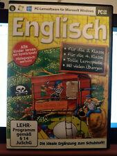 Lernsoftware Englisch Grundschule 3. und 4. Klasse, PC CD-ROM Microsoft windows