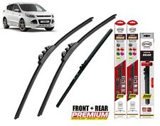 "Ford Kuga 2013+ full set quality windscreen wiper blades 28""28""10""front + rear"