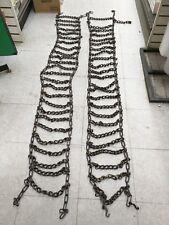 TRUCK TRACTOR SUV TIRE CHAINS - 7.00 X 16 PAIR OF 2