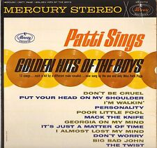 "PATTI PAGE ""SINGS GOLDEN HITS OF THE BOYS"" POP ROCK 60'S LP MERCURY 60712 STEREO"