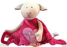 Sigikid Schaf Schäfchen Lamm pink 48599 Schmusetuch Kuscheltuch mit Rassel