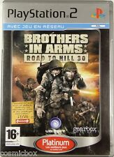 BROTHERS in ARMS - ROAD to HILL 30 - jeu pour console PlayStation 2 Sony PS2