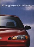 1997 Ford Mercury Tracer 14-Page Original Car Dealer Sales Brochure Catalog