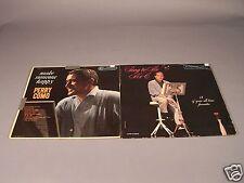 Perry Como - 2 -Vintage Vinyl Lp Albums -Sing to Me Mr C & Make Somone Happy