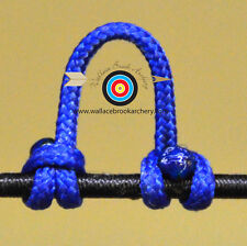 2 Pack Royal Blue Archery Release Bow String Nock D Loop Bowstring BCY #24