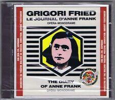 GRIGORI FRIED CD NEW DIARY OF ANNE FRANK BOLSHOI THEATRE MOSCOW EVA BEN-ZVI
