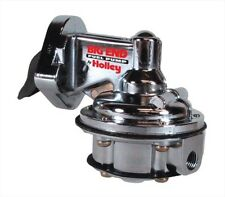 Big End Performance 10110 Big Block Chevy Fuel Pump 80GPH Mechanical, Polished