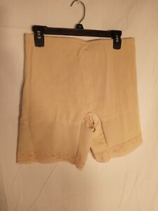 VTG SUBTRACT #2504 Firm Granny Panty Girdle 6 Metal Garters Size 38