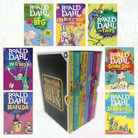 Dahl Fiction Roald Dahl Collection 7 Books Set Gift Wrapped Slipcase Going Solo