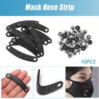 Barre de nez de masque Tige de protection Accessoire de masque Pince à nez