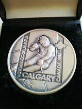 Medaille Calgary 1988