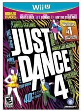Just Dance 4 (Nintendo Wii U, 2012)