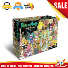 OZ Rick and Morty Total Rickall Cooperative Card Board Game Lastest Version