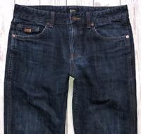 Mens HUGO BOSS Delaware 3 Jeans W30 L30 Blue Stretch Fit