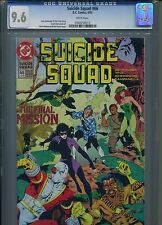 Suicide Squad #66 CGC 9.6 (1992) Last Final Only 7 Higher @ 9.8 White Pages