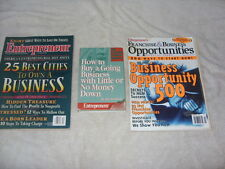Lot of 2 Entrepreneur Magazines from the 90s and a Auto Cassettes Tape