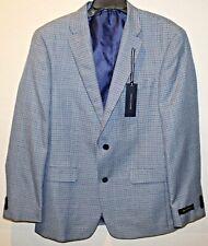 Tommy Hilfiger Mens Blue Herringbone Blazer Sportscoat Jacket NWT $295 Size 40 R