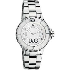 D&G Dolce & Gabbana Women's ANCHOR DW0512 Silver Stainless Steel Analogue Watch