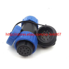 IP67 9Pin Waterproof Aviation Connector SP21 5A 500V High Voltage Connector