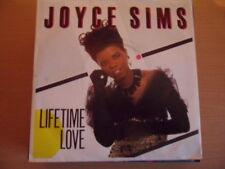 "JOYCE SIMS  LIFETIME LOVE    7"" VINYL"