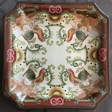 """New listing A Chinese antique """"HuaRongTang"""" porcelain plate"""