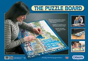 NEW! Gibsons Puzzle Board 1000 piece jigsaw puzzle accessory