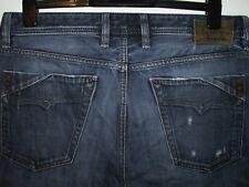 Diesel Mennit Regular Fit Straight Leg Jeans 0880 F W34 L32 (5230)