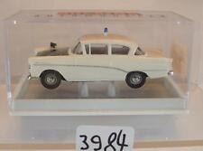 Brekina 1/87 Nr. 20010 Opel Rekord P1 Limousine Polizei weiß/grün OVP #3984