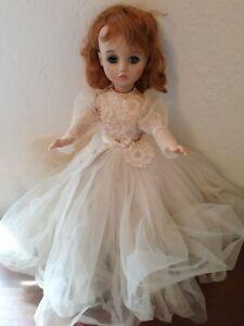 "VINTAGE 1966 MADAME ALEXANDER ELISE BRIDE DOLL 17"" TALL ALL ORIGINAL OUTFIT"