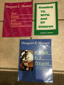 LOT Mooney Margaret books A BOOK IS A PRESENT, TEXT FORMS & FEATURES, READING TO