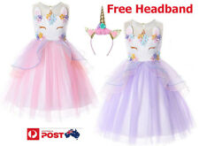 Unicorn Dress Princess Dress Bridesmaid Tulle Unicorn Costume Flower Girl Dress