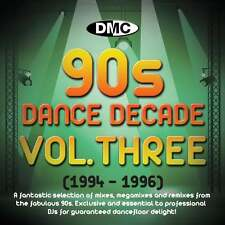 DMC Dance Decade Vol 3 1994 - 1996 Hits of the Nineties Mixes DJ CD Megamixes