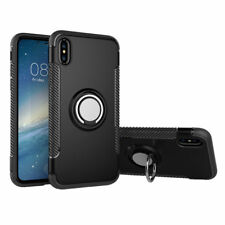 Luxury Shockproof Car Holder Magnetic Thin Skin Hybrid Case Cover For iPhone XR