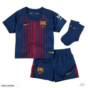 Barcelona Football Kit Baby Shirt Shorts & Socks Nike 9-12 Months 100% Official